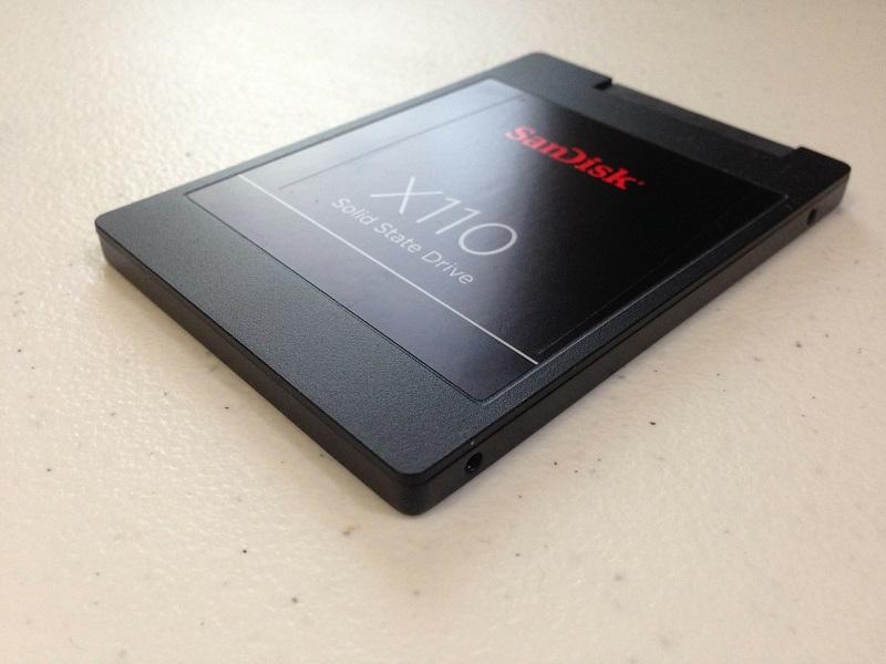 Le stockage de données sur un disque SSD