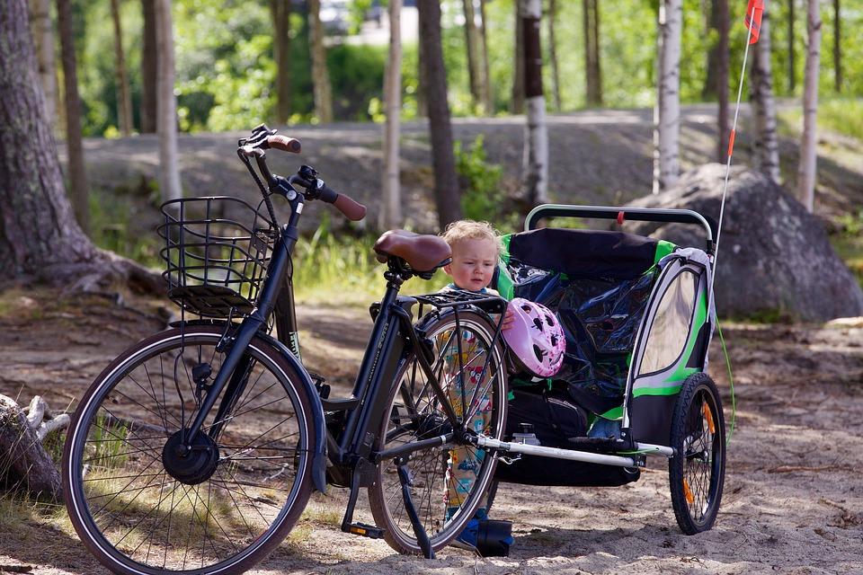 Tous les avantages d'une remorque de vélo